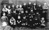 A group of children in Duff Street