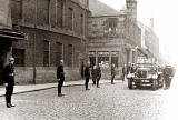 Funeral Procession for Fireman, A Tait, leaves Leith Fire Station  -  September 12, 1946