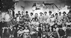 Gogarburn Hospital Staff Children's Christmas Party, around 1955