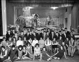 Gracemount Secondary School  -  Christmas Party Group, 1959