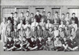 A school class at Granton School in the 1940s or early 1950s.