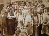 A Gang of Workers from James Gray & Son, Edinburgh  -  Photo taken around 1880