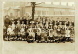 Photograph by D&W Prophet - A class at Hermitage Park School, around 1913