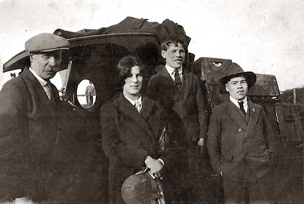 The Weddell Family from Holyrood Square