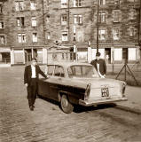Kenny Raeburn and Car  -  1960s  -  Where was this photo taken?