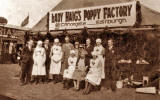 A Group of Nurses and Workers from Lady Haig's Poppy Factory, 65 Cnaongate, Edinburgh.  Where and when was this photo taken?