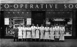 Workers at Leith Provident Coop, Boswall Parkway, 1935