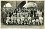 Longstone Primary School Class - 1954-55  - Final Year