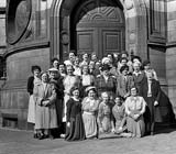 Group Outing  -  Usher Hall.  Do you know which group this was and when the photo might have been taken?