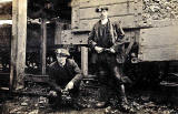 Miners, possibly from near Edinburgh  -  Where and when?