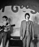 Edinburgh Groups in the 1960s  -  'The Moonrakers'  -  Graeme (Grum) Taylor and John Wykes on stage
