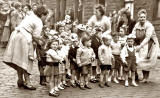 Street Party in Newton Street, Gorgie, 1953