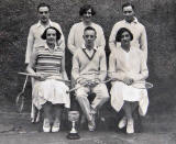 North Leith Parish Church Badminton Team, 1931
