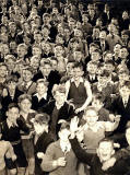 Parsons Green School pupils, around 1957.  What was the occasion when this photo was taken?