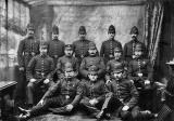 Police from the St Leonard's District.  Photo taken some time between 1885 and 1914