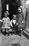 Group of Children outside 6 South Elgin Street - late-1920s