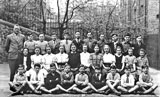 St Mary's Primary School, York Lane  -  Final Year, around 1952