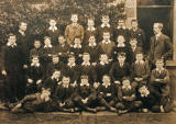 This is believed to be a photograph taken at St Patrick's School, some time between 1897 and 2012