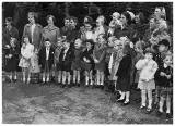 Stockbridg School Photo  -  First Day at School, 1959