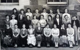 Class 1J at Torphichen Street Day Institute, Edinburgh.  Photo taken 1954.