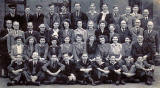 Tynecastle Secondary School  -  class photo  -  1946