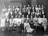 Tynecastle Secondary School  -  class photo  -  1940s
