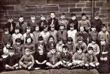 School Class at Victoria Primary School, Newhaven, 1920s