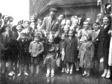 Coronation Celebrations in Lower or Upper Viewcraig Row - 1953