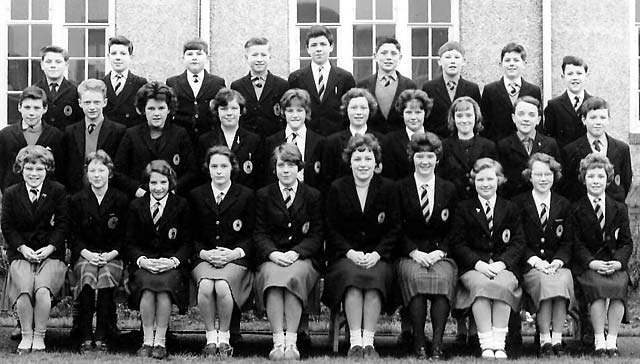 Wardie School Class in the 1950s