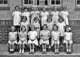 Girls from one of the classes at Wardie Primary School, around 1940.  Why are there only girls in thisp hoto?