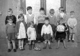 Children outside the 'Sally Ann' (Salvation Army) at Wardieburn Drive, Edinburgh