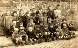 Kids from the streets around West Catherine Place, Haymarket, Edinburgh  -  around 1929