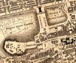The National Galleries  -  1840 map