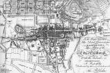 Edinburgh Old Town  and New Town - Map from 1817 Guide