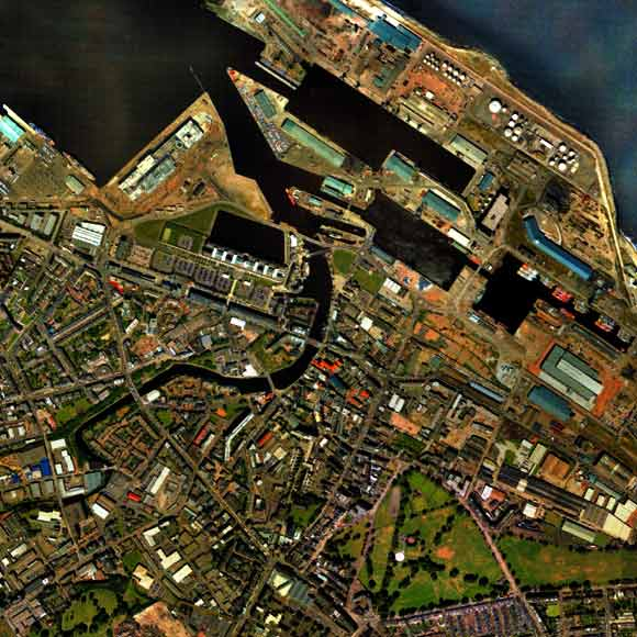 Map of Leith  -  2001