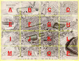 Map  -  Edinburgh, with key  -  Produced for the Society for the Diffusion of Useful Knowledge