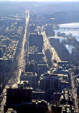 Boston:   looking west into the late afternoon sun:    Beacon Street  -  James J Storrow Memorial Drive  -  Charles River