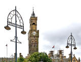 The City Hall and Lamp Posts, Bradford  -  2013