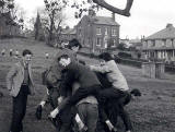 My Photos -  St Bede's Grammar School  -   In the school grounds  -  At Play  -  1962