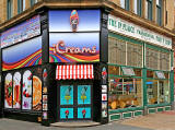 Ice Cream Shop and  Fish & Chip Shop in Sunbridge Road, City Centre, Bradford  -  2013