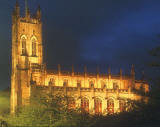 Saint John's Church - Princes Street - Early Winter Evening f -  Floodlit
