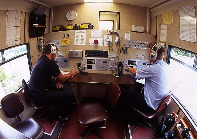 Inside the Control Unit  -  zoom-out  -  26 July 1994