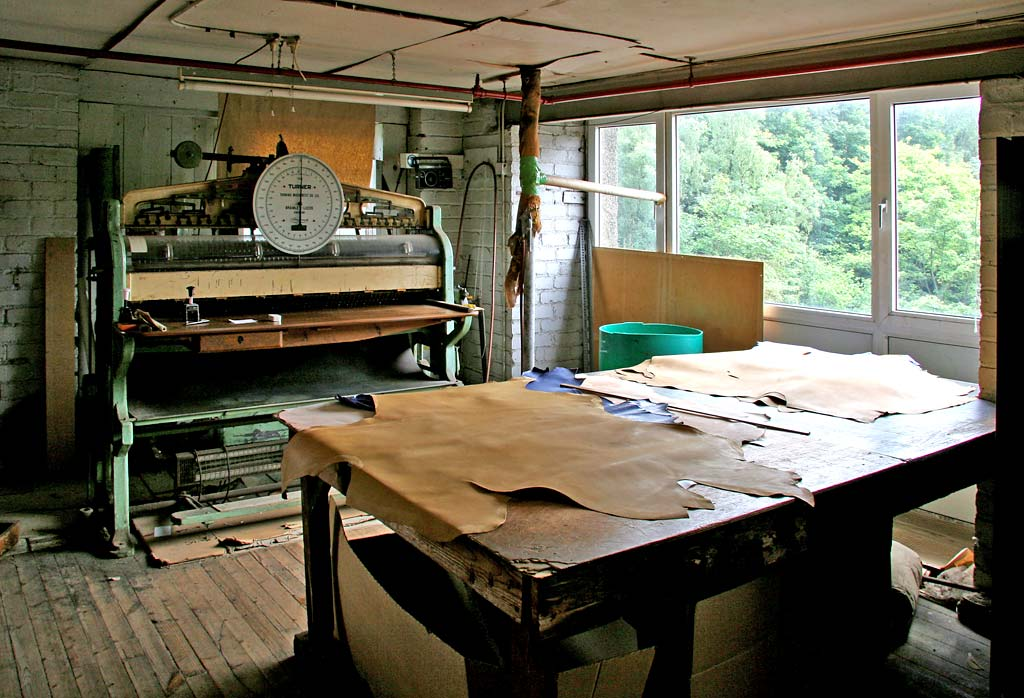 Edinburgh at Work  -  James Hewit & Sons  -  Tannery at Currie, Edinburgh