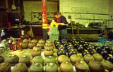 George Mackay - Bolwing Green Bowl Makers  -  Photographed 1994