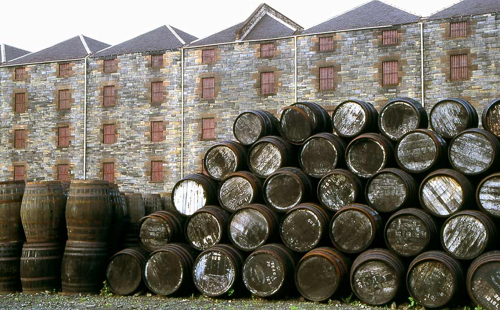 North British Distillery, Gorgie, Edinburgh  -  1993