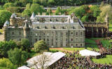 Photograph by Peter Stubbs  -  Edinburgh  -   May 2002  -  Holyrood Palace and Abbey