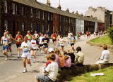 Edinburgh Marathon  -  June 2004  -  Lower Granton Road