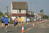 Edinburgh Marathon passing through Granton  -  June 11, 2006