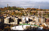 Photograph by Peter Stubbs  - Edinburgh  -  November 2002  -  View from Queen's Park towards Arthur's Seat