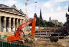 The National Galleries  -  Excavation work for the Playfair Project  -  20 August 2002